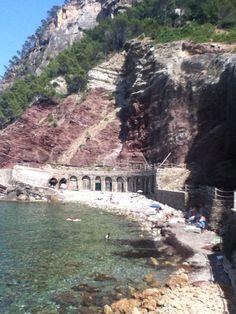 Cala Estellencs en Estellencs, Islas Baleares