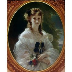 Franz Xaver Winterhalter (1806-1873) German School Canvas Art - (18 x 24)