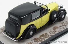 EDICOLA BONDCOL097 Skala: 1/43  ROLLS ROYCE PHANTOM III 1939 - 007 JAMES BOND - GOLDFINGER YELLOW BLACK