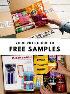 Free samples sent right to your door! Brands include Tide, Pyrex, Glade, Swiffer, and more! Take a short survey to qualify. #FreeSamples2018