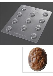 mold for cameo chocolates