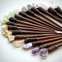 New hairsticks listed in shop today!