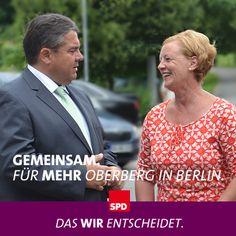 Gemeinsam. Für MEHR Oberberg in Berlin.