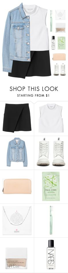 """""""k i e r s t e n"""" by thenewgirl3 ❤ liked on Polyvore featuring Monki, MANGO, Dr. Martens, Marni Edition, H&M, Dogeared, Supersmile, NARS Cosmetics and goals"""