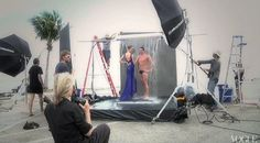 Behind the Scenes of Annie Leibovitz's Vogue Olympic Photoshoot