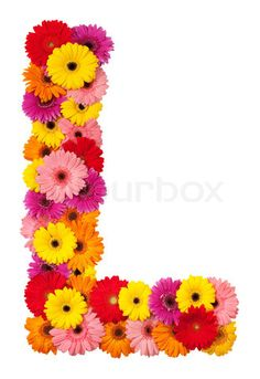 S Alphabet In Flowers Flower letters, Alphabet and Background images on Pinterest
