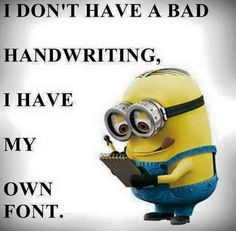 - Minion Quote Of The Day, minion quotes - Minion-Top funny Minions captions PM, Sunday December 2016 PST) – 40 pi. - Minion Quote Of The Day, minion quotes - Minion- Really Funny Memes, Crazy Funny Memes, Funny Relatable Memes, Funny Texts, Funny Quotes, Funniest Quotes, 9gag Funny, Funny Picture Quotes, Funny Laugh