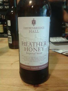 Heather Honey, Thornbridge Hall, imperial stout, Denmark
