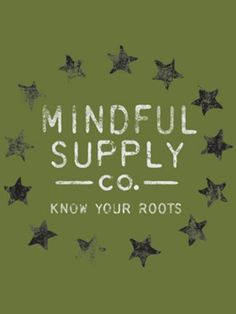 Mindful Supply Co Mindful Stars T-Shirt (Mens), Made in USA
