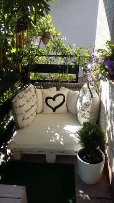 20 idées de décoration de balcon confortable , #balcon #confortable #decoration #idees