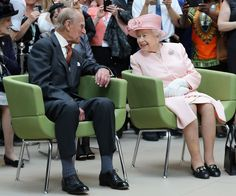 The way he looks at her... Even after 69 years, Prince Philip has but one Queen.