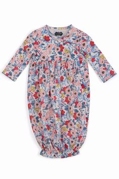 b594c2d3126 The Gift Pod Floral Sleep Gown - Main Image Night Gown, Tween Girls,  Infant. Shoptiques