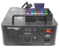 Chauvet Geyser RGB fogger and led effects light Walkie Talkie, Talk To Me, Remote, Led, Pilot