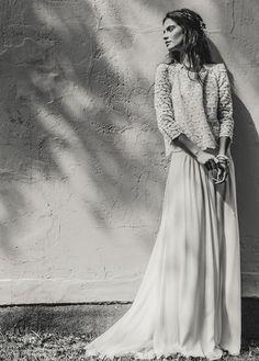 Vestidos de noiva vintage de Laure de Sagazan 2015   Casar com Gosto