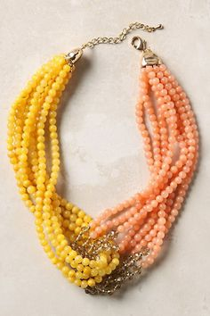 String Up These Gorgeous Statement Necklaces  #refinery29