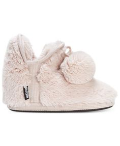 d8192ba7917 Muk Luks Women's Amira Faux-Fur Boot Slippers & Reviews - Slippers - Shoes  - Macy's