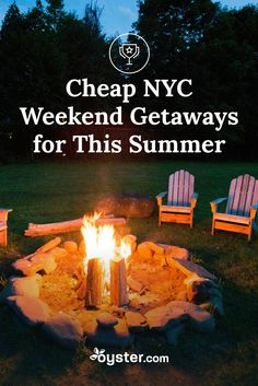 We did some research, though, and came up with six affordable destinations that are not only easy to reach from New York City, but also often have at least a hidden gem or two that's still available, even if you're booking just days in advance. Here we bring you six great getaways for New Yorkers this summer.