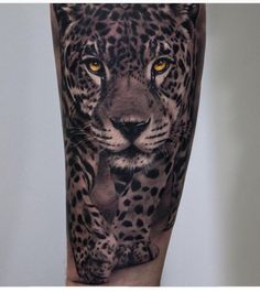 56 Trendy tattoo female wolf leg - 56 Trendy tattoo female wolf leg The Effective Pictures We Offer You About meaningful tattoo A qua - Leopard Tattoos, Animal Tattoos, Head Tattoos, Body Art Tattoos, Print Tattoos, Sleeve Tattoos, Big Cat Tattoo, Tattoo Bein, Kopf Tattoo