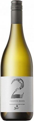 Spier Creative Block 2 Sauvignon Blanc · Semillion 2013 4 stars reviewed by @winelab @spierwinefarm
