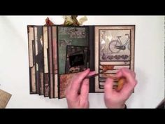 I created a vertical paper bag mini album using the DCWV Timeless Type Paper Stack. I'm calling this a vintage style mini album.     If you are interested in learning how to create a vertical paper bag mini album, here is the link to my tutorial.  http://youtu.be/-suN3mJcsm8    http://mysistersscrapper.com/