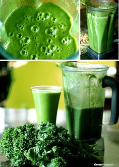 10 Kale Smoothie Recipes and lots more recipes by ingredient, listing nutritional benefits of each