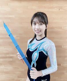 Kids Leotards, Gymnastics Leotards, Japanese Beauty, Japanese Girl, Angel Kids, Sport Gymnastics, Folk Costume, Kawaii Girl, Athletic Women