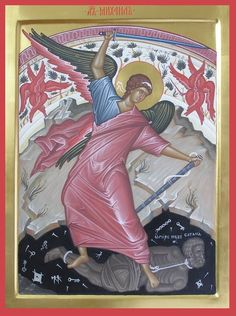 Religious Icons, Religious Art, Gabriel, Angel Images, Angel Warrior, Best Icons, Byzantine Art, Grisaille, Archangel Michael