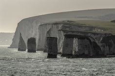 Old Harry Rocks by Phil George on Harry Rocks, Coast, Landscape, Outdoor, Outdoors, Landscape Paintings, The Great Outdoors, Seaside, Scenery