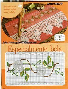 havlu etamin işleme şema havlu işleme desenleri motifleri örnekleri