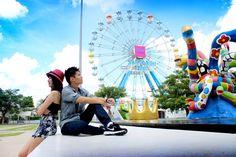 Santorini, Ferris Wheel, Fair Grounds, Park, Travel, Viajes, Traveling, Parks, Trips