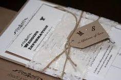 Image result for unique rustic wedding invitations