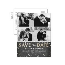 Sprinkled in Love Save the Date