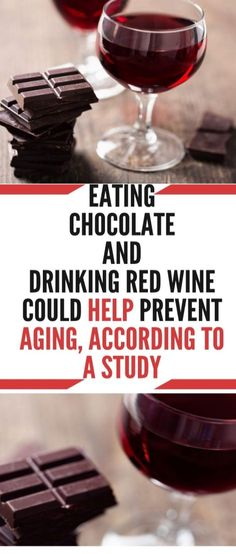 Eating Chocolate and Drinking Red Wine Could Help Prevent Aging, According to a Study - Healthy House Red Wine Benefits, Health Benefits, Health Tips, Molecular Genetics, Local Seo Services, Reverse Aging, Love Dogs, Alternative Medicine, Drinking
