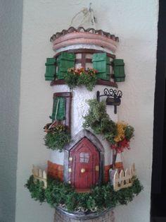 Teja decorada en relieve / Manualidades Bernardo - Artesanio
