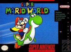 Super Mario World - Empty SNES Box