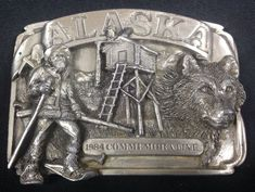 Alaska Pewter Siskiyou Buckle Company 4th Series LE # 1355 Of 2500 1984  | eBay