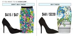 Ways to Make Cheap Clothes Look Expensive - How to Mix High and Low - Good Housekeeping