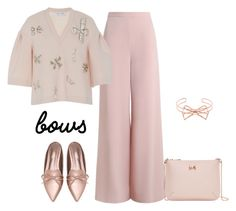 """""""outfit 5291"""" by natalyag ❤ liked on Polyvore featuring Zimmermann, Dice Kayek and Ted Baker"""