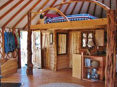 Over the years, our customers have found a wide range of use for our yurts, andmany haveshared their creative interior designs with us. Here are some of our favorites!