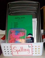 Spelling Station... LOVE THIS!