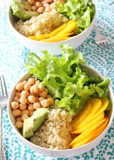 Springtime Millet Bowls With Crunchy Spicy Seeds #grainbowl #healthy #recipes http://greatist.com/eat/grain-bowl-recipes-healthy-dinner-ideas