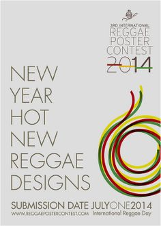 Call for Entries | Intl Reggae Poster Contest 2014