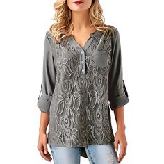 Soly Tech Women Lady Floral Printed Sleeveless Casual Work Shirts Tops Blouses at Amazon Women's Clothing store: