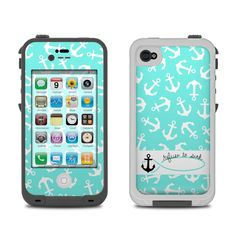 Lifeproof iPhone 4 Case Skin - Refuse to Sink by Brooke Boothe | DecalGirl