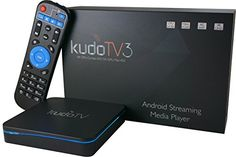 KudoTV 3 Android TV Box Streaming Player with OTA Updater 2G/16G/4K Plug & Play Ready with Marshmallow 6.0.1 & AC Wireless | Streaming Media Player Reviews