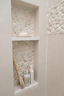 łazienka kamień drewno surowy styl rustykalny