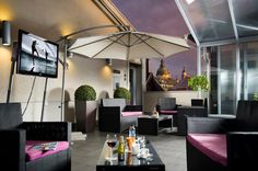 Feel free to use our rooftop terrace during your stay where a flat screen LCD tv and a self service mini-bar is also available for you.