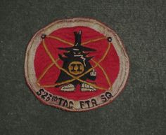 Vintage Rare PATCH USAF F-4 PHANTOM 523rd TACTICAL FIGHTER SQUADRON, GUC!