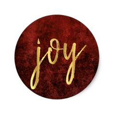 """Holiday """"Joy"""" 