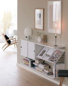 Living room | String Shelving System
